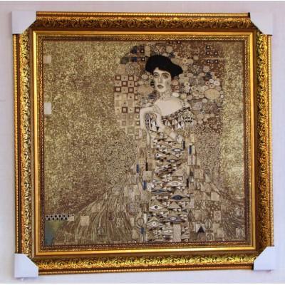 Портрет Адель Блох-Бауэр, Климт (84*90 см.)