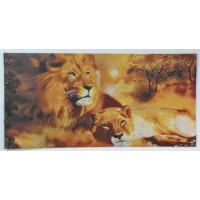 Пара левів (133,5*74,5 см.)