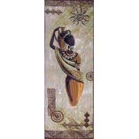 Африканка з глечиком (48*110 см.)