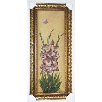 Фіолетові іриси (48*117 см.)