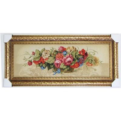 Прекрасные цветы (108*48 см.)