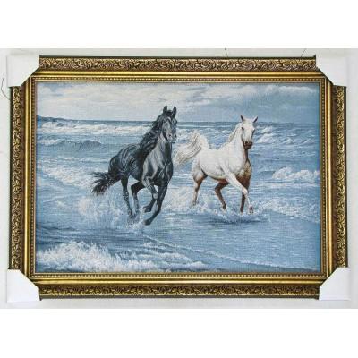 Романтичні конячки море (77*58 см.)