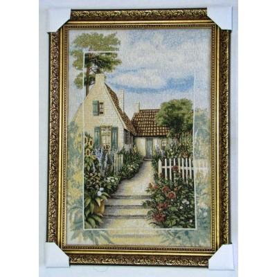 Будинок і квіти (55*79 см.)