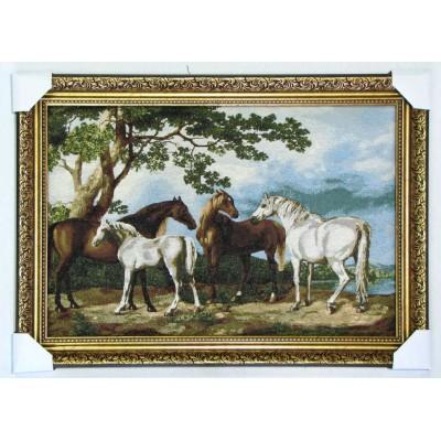 Лошади (79*55 см.)