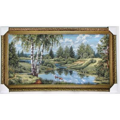 Пейзаж з качками (101*59 см.)