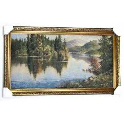 Отражение в озере (108*54 см.)