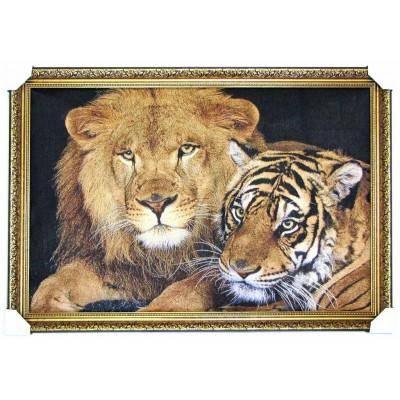 Лев і тигриця (110*77см.)
