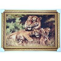 Тигриця з тигринятами (111*77см.)