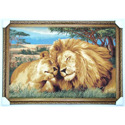 Закохані леви (120*77см.)