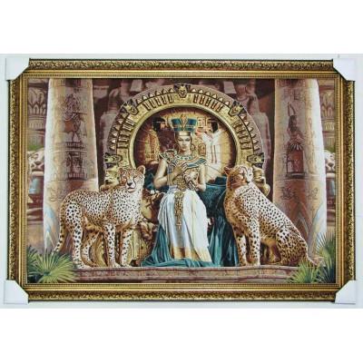 Клеопатра та два гепарди (115*75 см.)