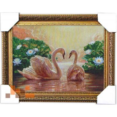 Сонячні лебеді (46,5*35,5 см.)