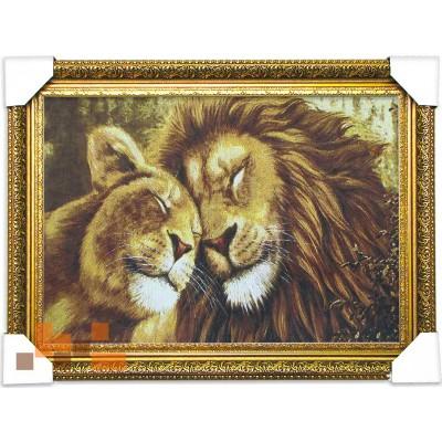 Левиця і лев (65.5*48.5.)