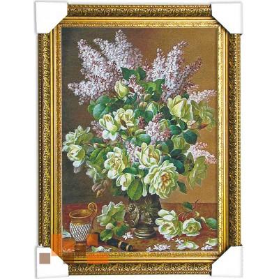 гобеленова картина Букет квітів (48.5*65,5 см.)