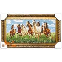 Табун коней (67*38 см.)