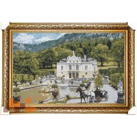 Гобеленова картина Білий замок 111х76 см.