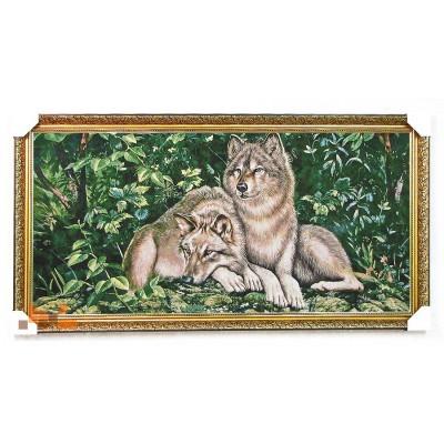 Зелені вовки 127х68 см.