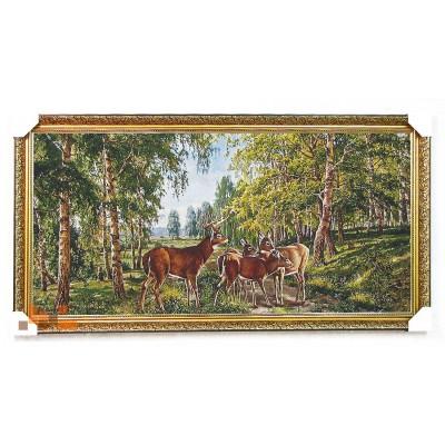Сімейка оленів 127х68 см.