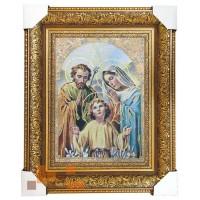 Гобеленова ікона- картина Свята родина 46х36 см