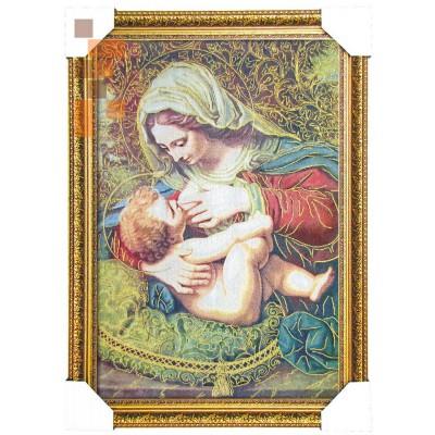 Божа матір з немовлям 45*65 см