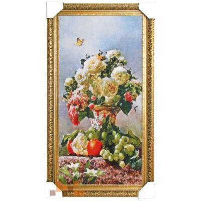Букет літніх дарів природи 47х87 см