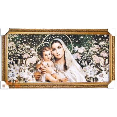 Діва Марія з немовлям 89х49 см