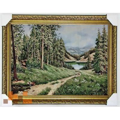 Гобіленова картина Десь у лісі