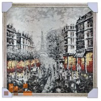 Паризькі сюжети 75х75 см
