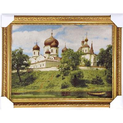 Гобіленова картина Човен церква віра