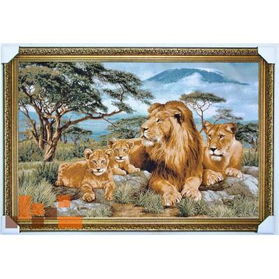 Сім'я левів (109х76 см.)