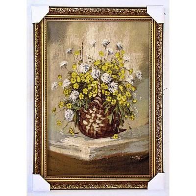 Польові квіти в корзині (78*55 см.)
