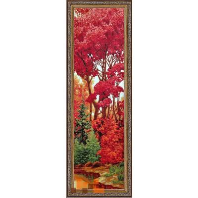 Багряний ліс 40х125см