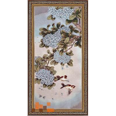 гобеленова картина Парочка пташок 110х55см