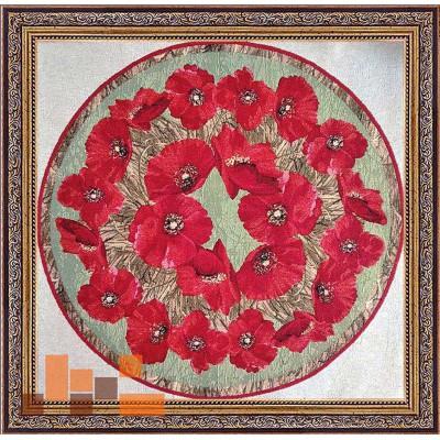 гобеленова картина Макове намисто 73х74см