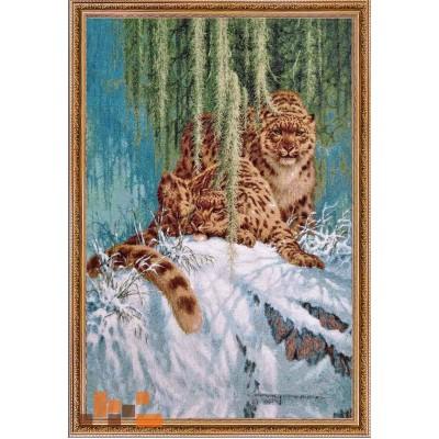 Кошки, вид2, рысь 109х75см