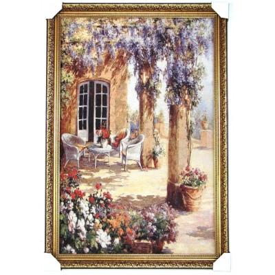 Уютный дворик 112х78см