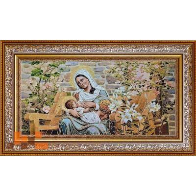 Діва Марія з Ісусом 96х53см