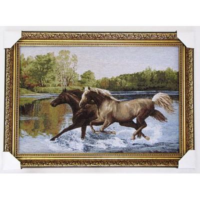 гобелен Пара лошадей (77*53 см.)