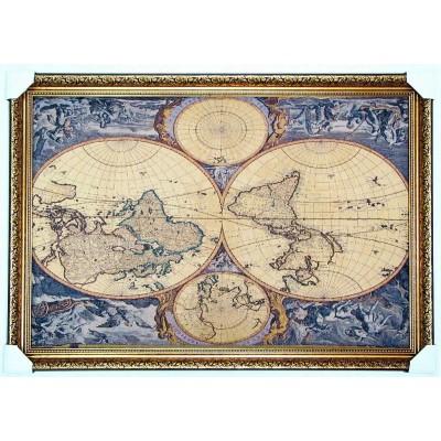 Карта світу старовинна (117*79 см.)