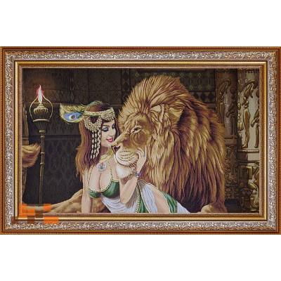 Клеопатра з левом люрекс(115х88)
