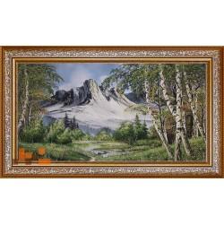 Гірський пейзаж (130х74)
